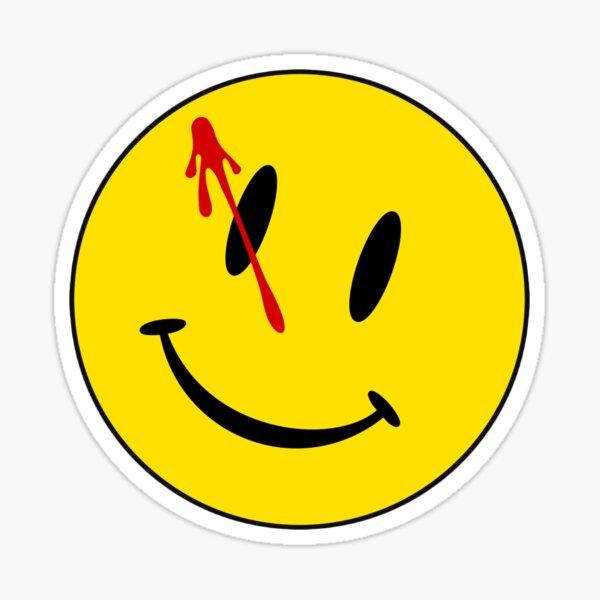 Watchmen smiley Pegatina