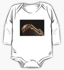 Caesars Palace with a Half Moon - Midnight in Las Vegas One Piece - Long Sleeve
