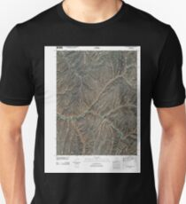 USGS TOPO Map Colorado CO No Name Ridge 20100901 TM Unisex T-Shirt