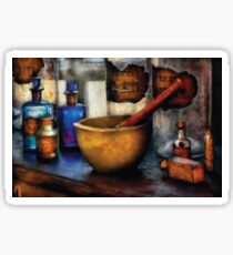 Pharmacist - Mortar and Pestle Sticker