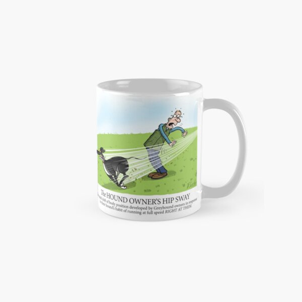 Hound Owner's Hip Sway Classic Mug