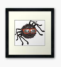 Smart Spider Framed Print