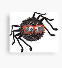 Smart Spider Canvas Print