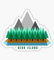 Bear Island Sticker