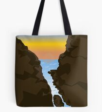Sunset Scenery  Tote Bag