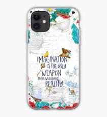 Vinilo o funda para iPhone Alicia en el país de las maravillas - Imaginación