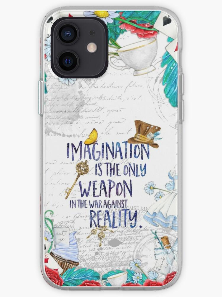 Alice au pays des merveilles - Imagination   Coque iPhone