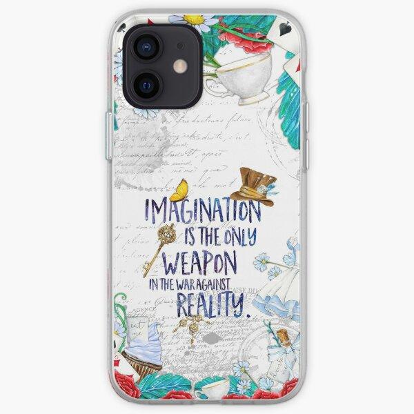Alice in Wonderland - Imagination iPhone Soft Case