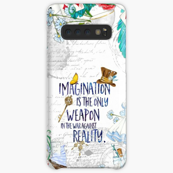Alice in Wonderland - Imagination Samsung Galaxy Snap Case