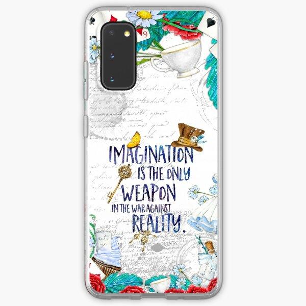 Alice in Wonderland - Imagination Samsung Galaxy Soft Case