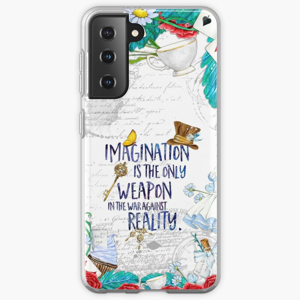 Alice in Wonderland - Imagination Case & Skin for Samsung Galaxy