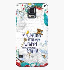 Alice im Wunderland - Fantasie Hülle & Klebefolie für Samsung Galaxy