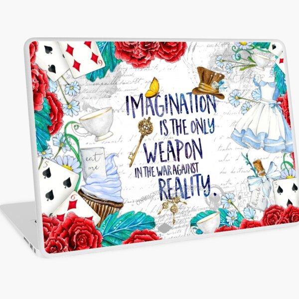 Alice in Wonderland - Imagination Laptop Skin
