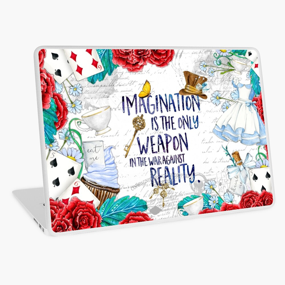 Alice in Wonderland - Imagination Laptop Skin
