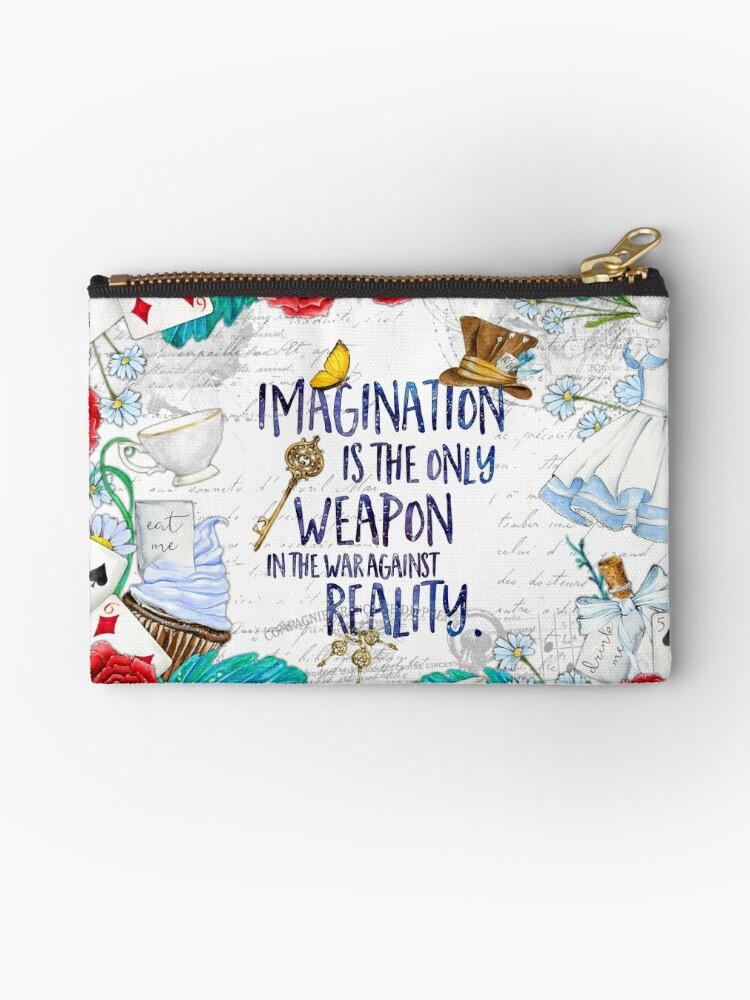 Alice in Wonderland - Imagination by eviebookish