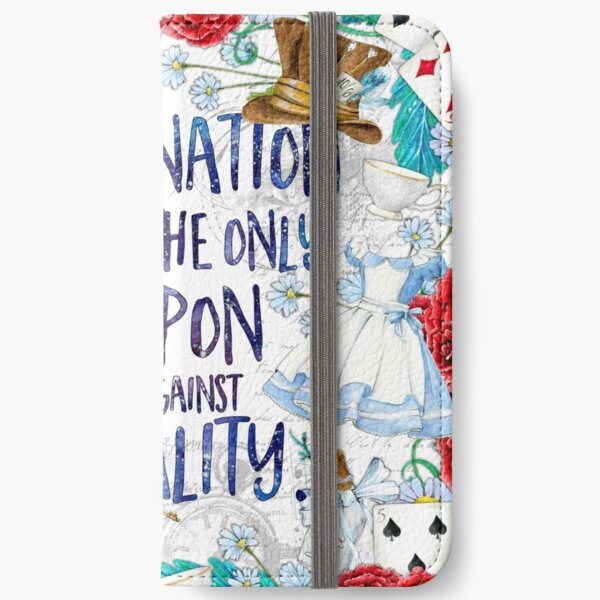 Alice in Wonderland - Imagination iPhone Wallet