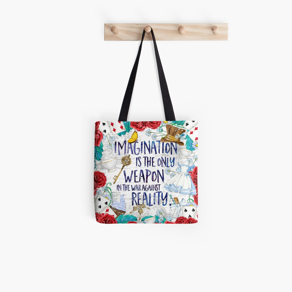 Alice in Wonderland - Imagination Tote Bag