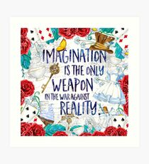 Alice in Wonderland - Imagination Art Print