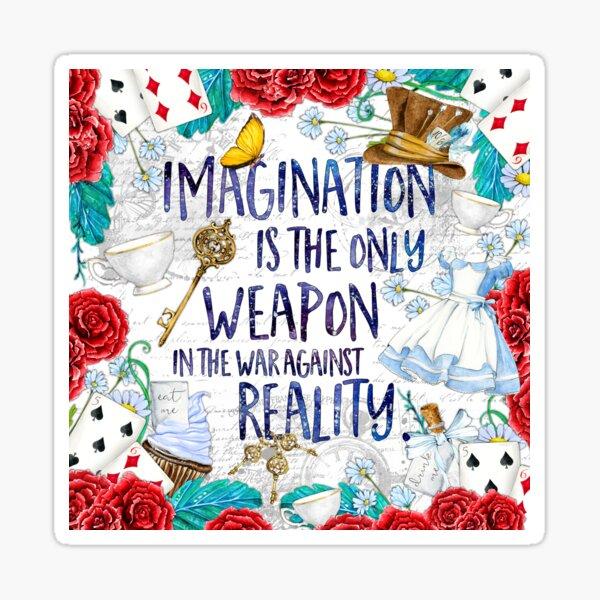 Alice au pays des merveilles - Imagination Sticker