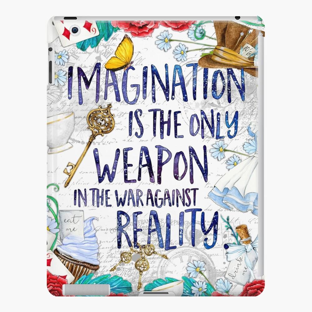 Alice in Wonderland - Imagination iPad Case & Skin
