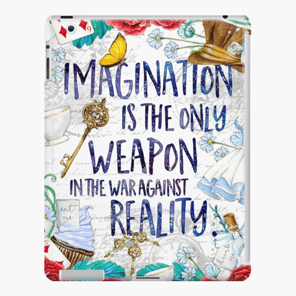 Alice in Wonderland - Imagination iPad Snap Case