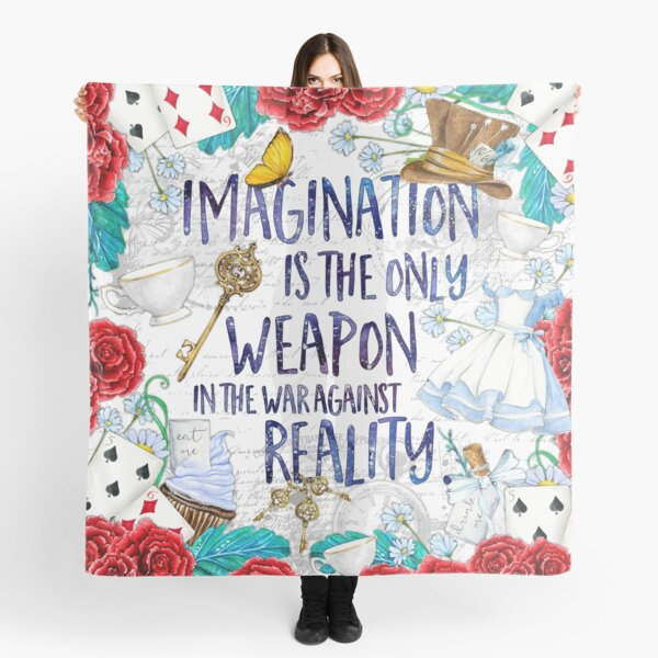 Alicia en el país de las maravillas - Imaginación Pañuelo