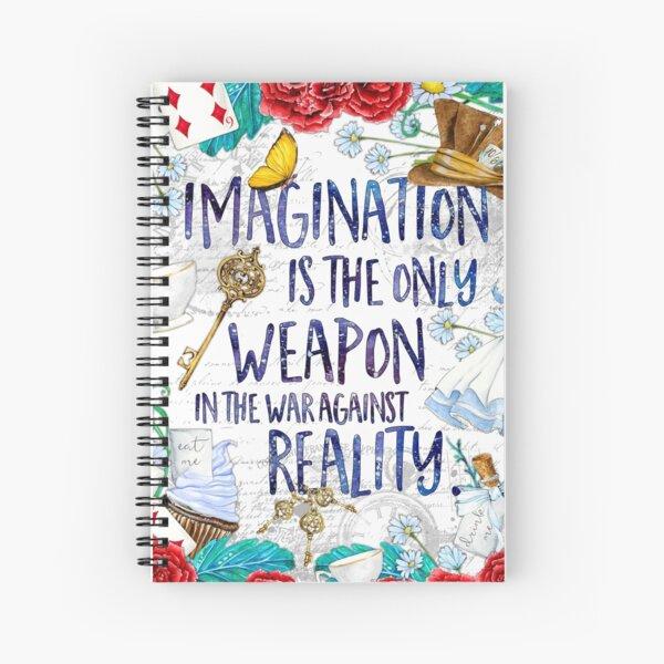Alice in Wonderland - Imagination Spiral Notebook