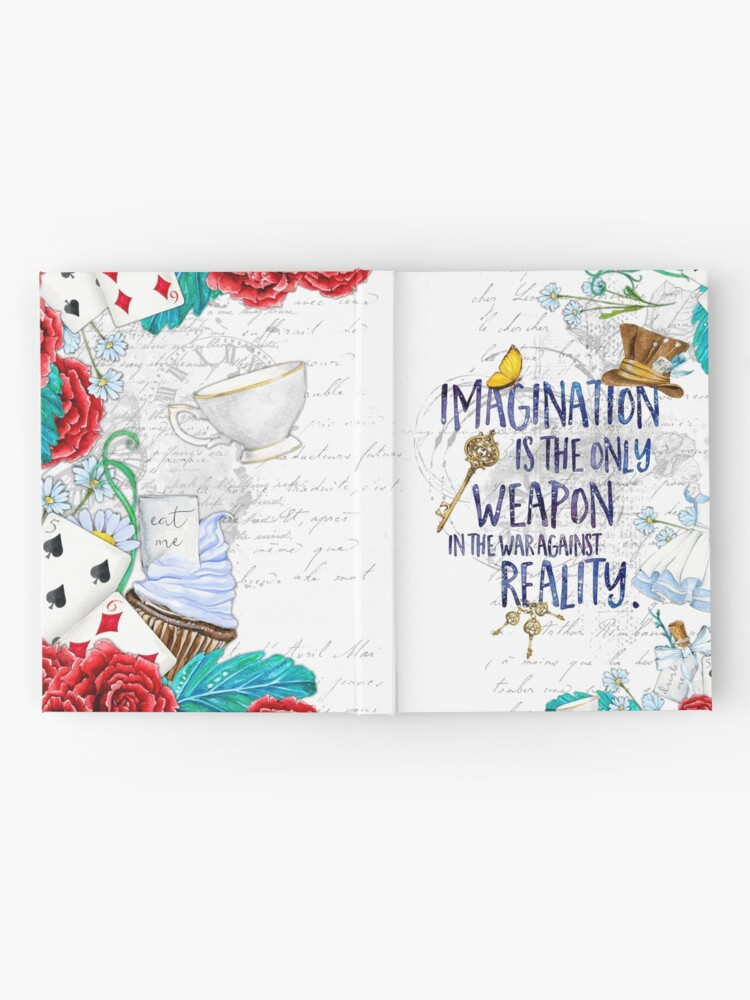 Alternate view of Alice in Wonderland - Imagination Hardcover Journal