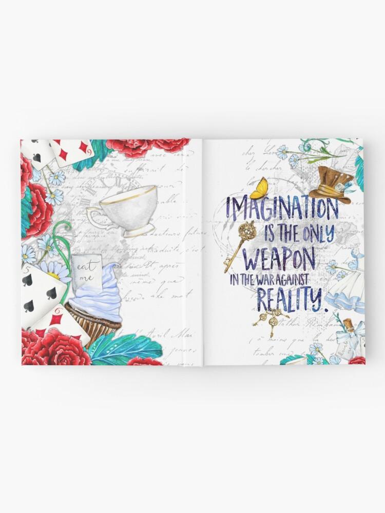 Alternate view of Alice in Wonderland - Imagination Hardcover Journal