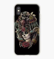 Vinilo o funda para iPhone Día de los Muertos (Guardianes Antiguos)