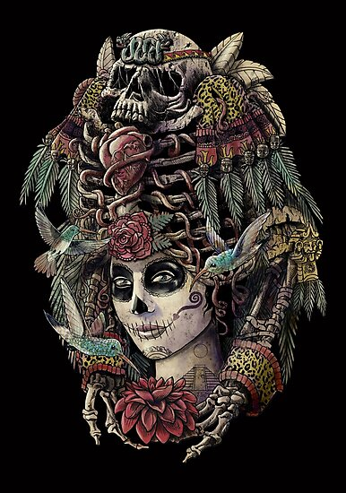 Day of the Dead (Ancient Guardians) by qetza