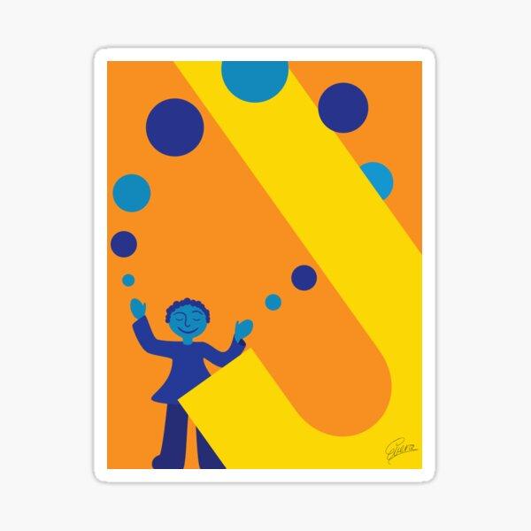 J is for Juggler Sticker