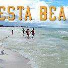 Siesta Beach Scene by EyeMagined
