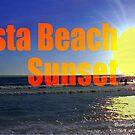 Siesta Beach Sunset by EyeMagined