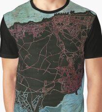 Isle of Thanet Lino Print Graphic T-Shirt
