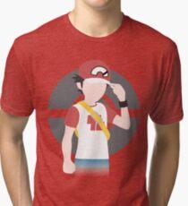 Red's Return - Pokemon Sun & Moon Tri-blend T-Shirt