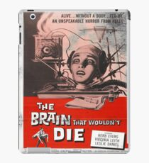 The Brain That Wouldn't Die Vintage Movie Poster iPad Case/Skin