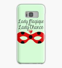 Miraculous Ladybug - Lady Magic and Lady Luck (mint ver.) Samsung Galaxy Case/Skin