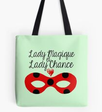 Miraculous Ladybug - Lady Magic and Lady Luck (mint ver.) Tote Bag