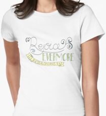 rejoice evermore Womens Fitted T-Shirt
