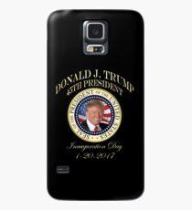 Funda/vinilo para Samsung Galaxy Día de la inauguración del presidente Trump Donald Trump 45º sello presidencial