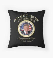Präsident Trump Einweihungstag Donald Trump 45. Präsidentensiegel Dekokissen