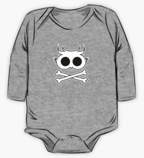 Owl Cross Bone 2 One Piece - Long Sleeve