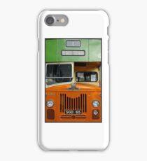 Old Glasgow Bus iPhone Case/Skin