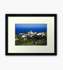 Parish in the Azores islands Framed Print