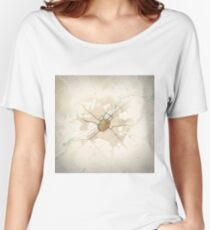 Map of the City of Canterbury Women's Relaxed Fit T-Shirt
