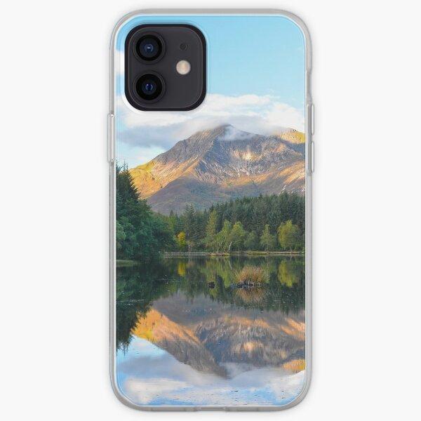 Glencoe Lochan, Glencoe, Scotland. iPhone Soft Case