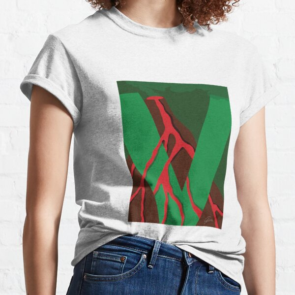 V is for Volcano Classic T-Shirt