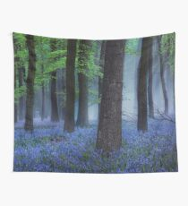 Misty Blue Wall Tapestry