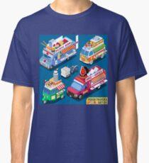 Fast Food Truck Pizza  Classic T-Shirt
